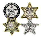 Junior Deputy Sheriff Badge Stickers