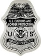 border patrol badge stickers