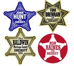 badge stickers for sheriff candidates