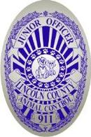 junior officer animal control badge stickers