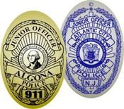 junior officer badge labels