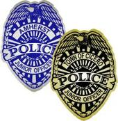 junior officer badge stickers for kids