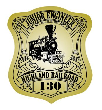Junior Engineer Badge Stickers