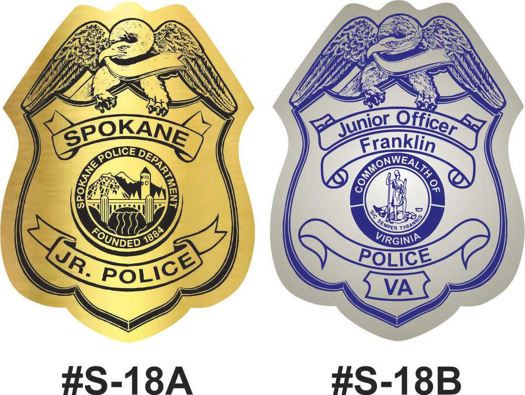 Police Badge Stickers