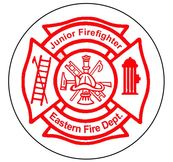 Firefighter maltese cross stickers