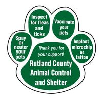 animal control labels and stickers