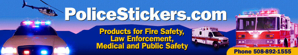 Badge Stickers for Kids - Police, Fire, Sheriff and More